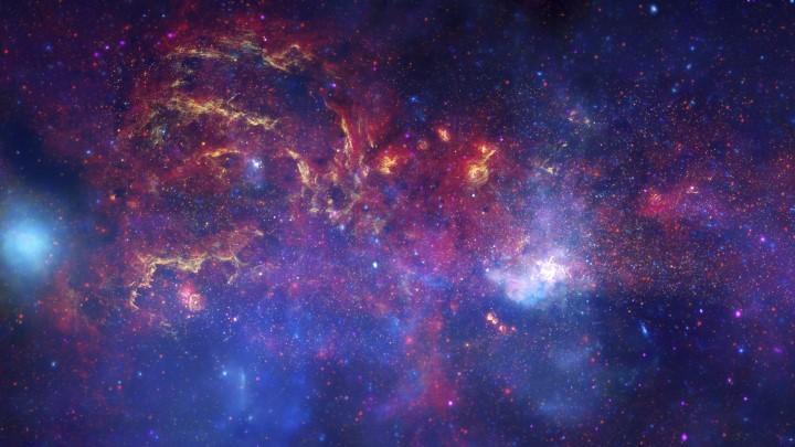 首页 > ppt背景素材 > 红色 紫色 星球 星际 星云 宇宙 太空.
